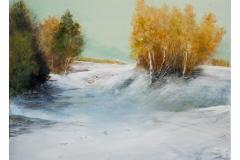 Prima neve in autunno